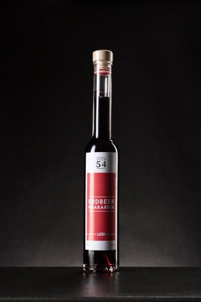 Erdbeer-Rhabarber Likör - 17,0% Vol. 200ml Flasche