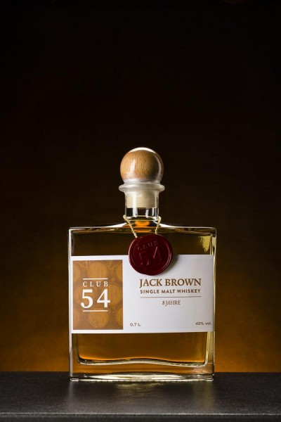 Jack Brown Single Malt Whiskey 8 Jahre - 43% Vol.