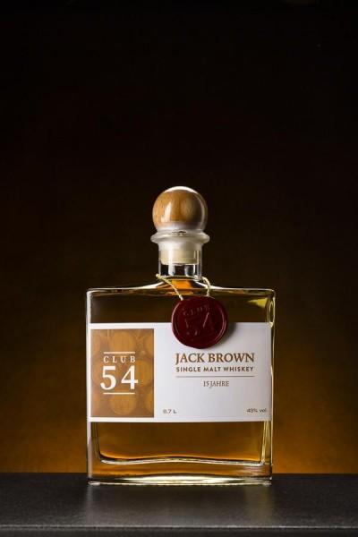 Jack Brown Single Malt Whiskey 15 Jahre - 43% Vol.