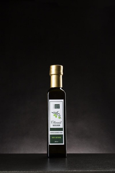 Basilikum Olivenöl Nativ Extra