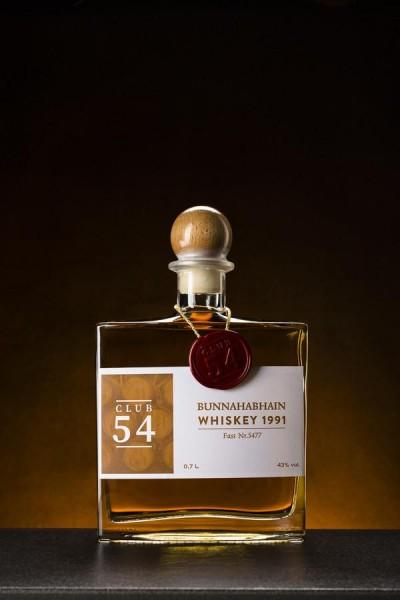 Bunnahabhain Whiskey 1991 (Fass-Nr. 5477) - 49,6% Vol.