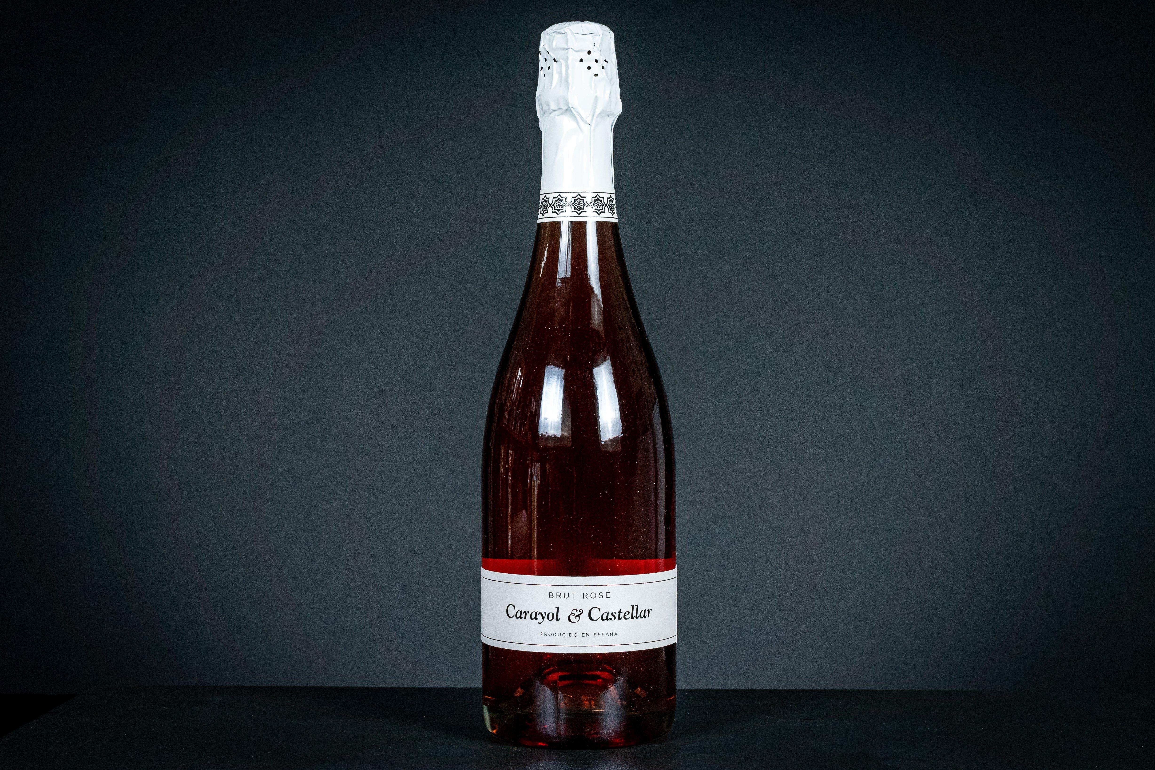 Brut Rose Carayol& Castellar -Espumoso- Schaumwein aus Granada 75cl