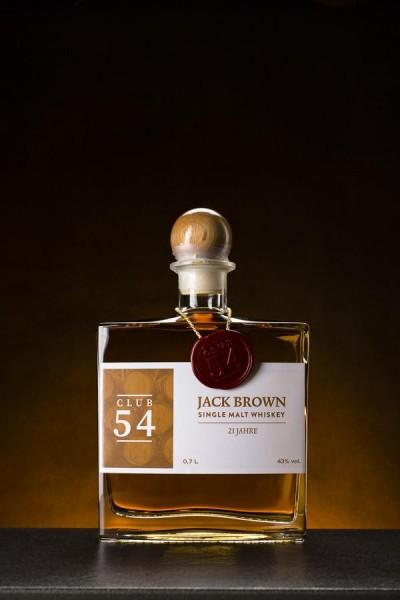 Jack Brown Single Malt Whiskey 21 Jahre - 43% Vol.