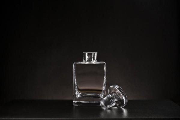 Premium Glas Karaffe- mundgeblasen - 1100ml klar
