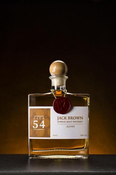 Jack Brown Single Malt Whiskey 28 Jahre - 43% Vol.