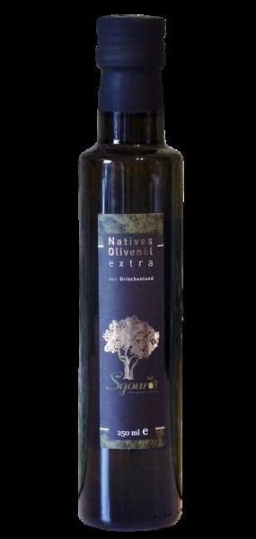 Griechisches natives Olivenöl aus Korfu 250ml Flasche